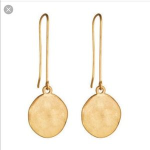🆕 CHLOE + ISABEL Gold Paillette Drop Earrings